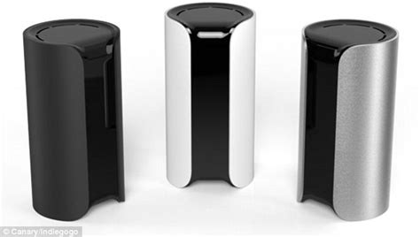 canary the intelligent home security system that