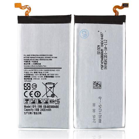 Baterai Rakkipanda For Samsung Galaxy E5 Power 4800mah baterai samsung galaxy e5 2015 2300 mah eb e500abe jakartanotebook