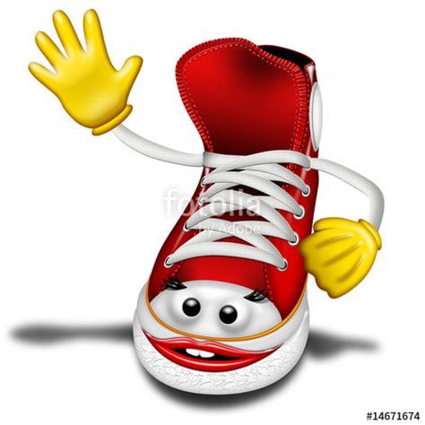 clipart ginnastica quot scarpa ginnastica shoe chaussure tennis 2 quot stock