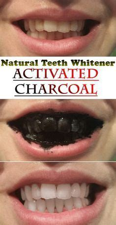 ideas  activated charcoal  pinterest teeth