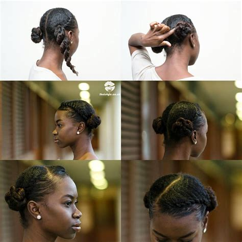 protective hairstyles buns see this instagram photo by sashabasha2 hairstyles for