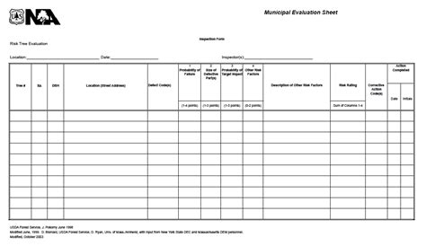 Tree Survey Report Template