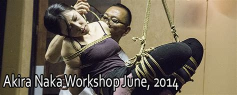 la rope dojo akira naka workshop june 2014 la rope