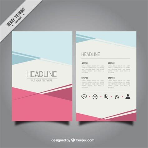 free e brochure templates more pinteres