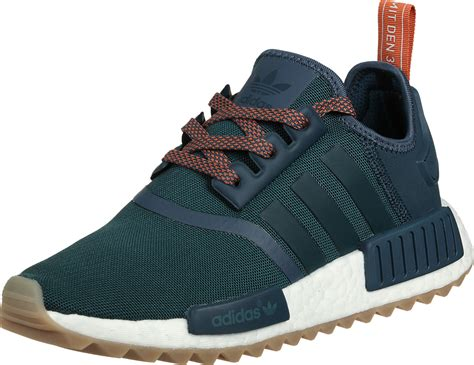 adidas nmd r1 trail w shoes green turquoise orange