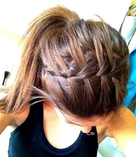 sport hairstyles pinterest 134 besten flechtfrisuren bilder auf pinterest haar