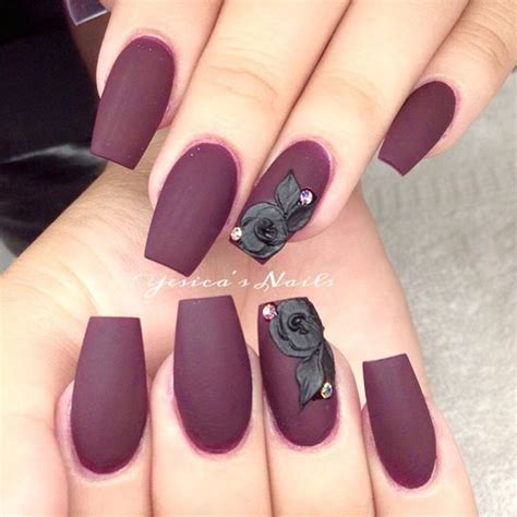 how to do matte gel nails 25 best ideas about burgundy matte nails on
