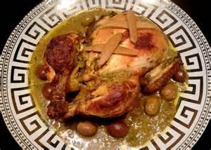 cuisine marocaine au poulet