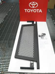 Toyota Tacoma Cargo Divider Oem Toyota Tacoma Cargo Bed Divider With Mounting Hardware