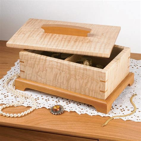 woodworking compartments secret compartment jewelry box woodworking plan from wood