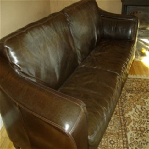 why is my leather sofa sticky the leather doctor leather sofa and car seat repair