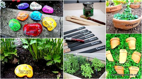 19 brilliant no money ideas to label the plants in your