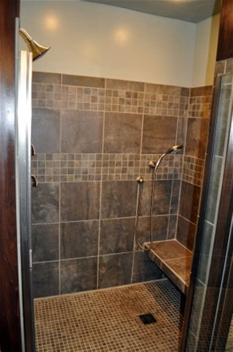 shower built in bench built in bench in shower bathroom ideas pinterest