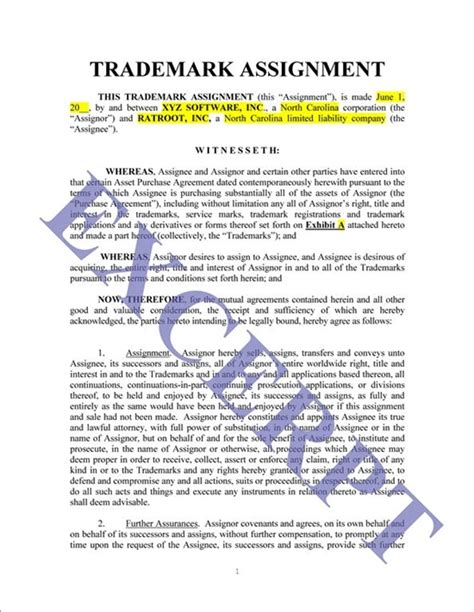 Letter Of Credit Assignment Agreement Assignment Contract