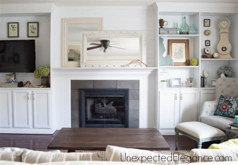 Built Ins Around Fireplace Diy by Quot Big Finish Quot Diy Fireplace Built Ins