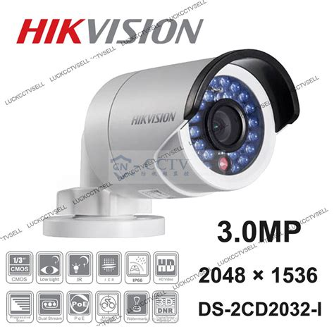 Cctv Ip Outdoor ds 2cd2032 i hikvision 3 0mp 1080p poe cctv outdoor network ip wide angle
