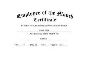 Employee Of The Year Certificate Template Free by Awards Certificates Free Templates Clip Wording