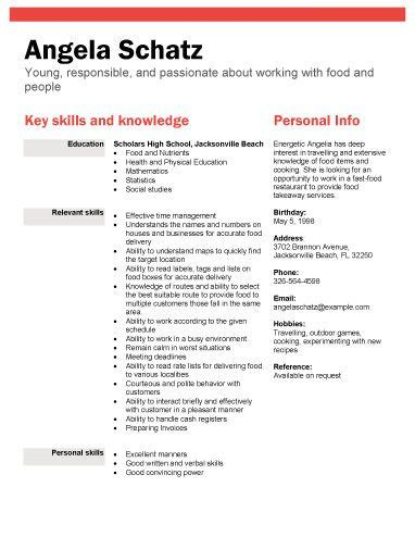 resume for highschool students looking for a high school student resume sles with no work experience