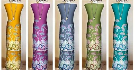 design baju untuk kain sutera tips busana islam batik royal eksklusif