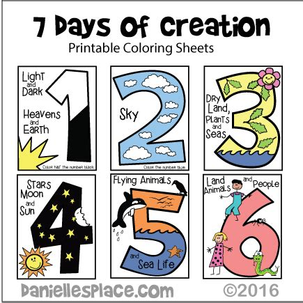 creation story for kids book creation crafts and activities for sunday school