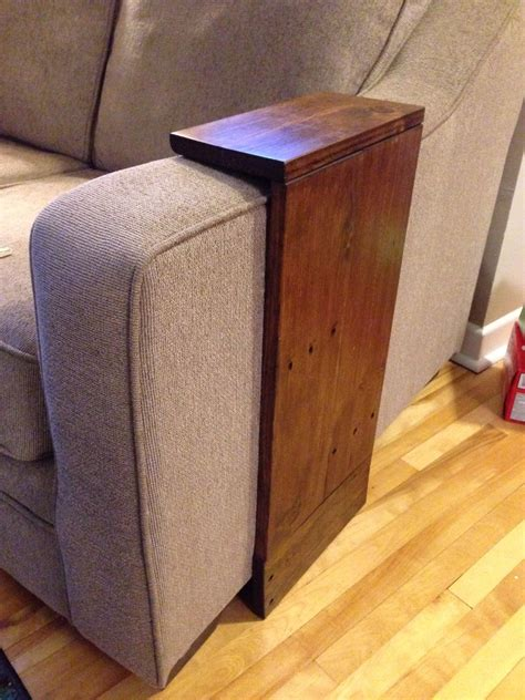 Side Sofa Tables by White Easy Small Space Side Table Diy Projects