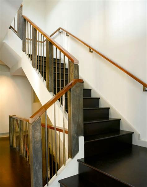 modern banister modern wood stair railing www imgkid com the image kid