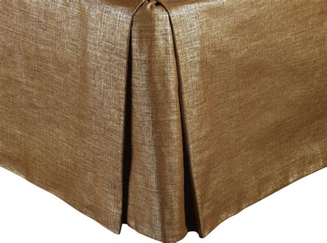 cal king bed skirt mystic valley traders radiance copper cal king bed skirt