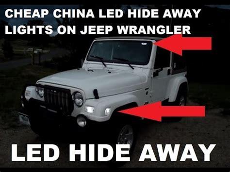 Emergency Lights For Jeep Wrangler 2010 Jeep Wrangler 4door Emergency Led Strobes How