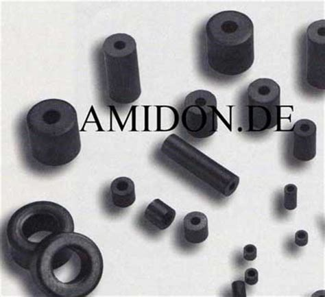 amidon inductor cores englisch ferrit material