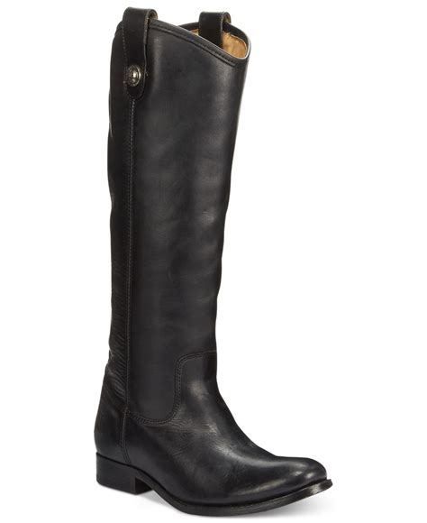 frye boots wide calf frye carson button wide calf boots in black lyst