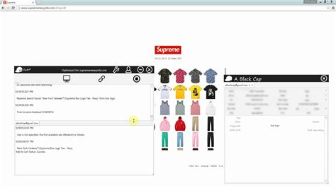 supreme web store the real fastest supreme bot 6 11 us store new york