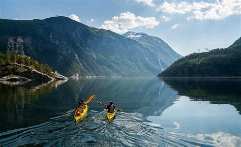 fjord kayaking bergen kayak fjord norway