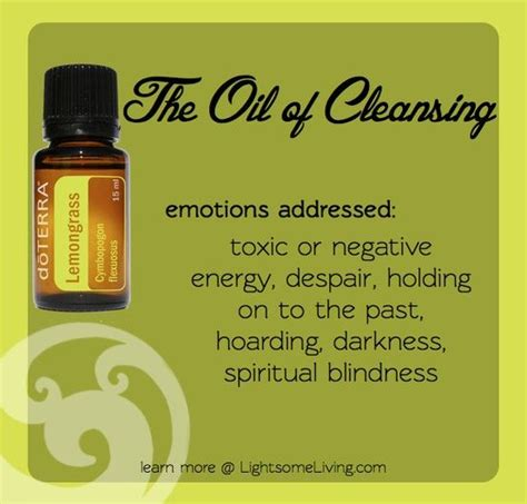 how to clear negative energy clear negative energy with lemongrass new fav doterra