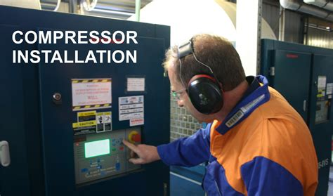 air compressor installation services