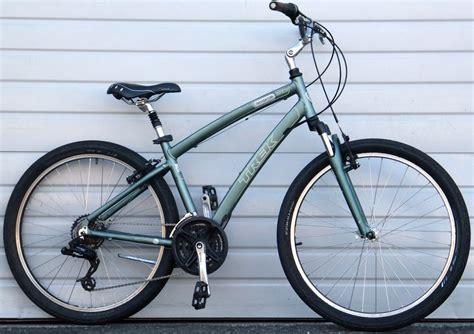 comfortable bike seat for trek 15 5 quot trek navigator 2 0 aluminum comfort commuter bike 5
