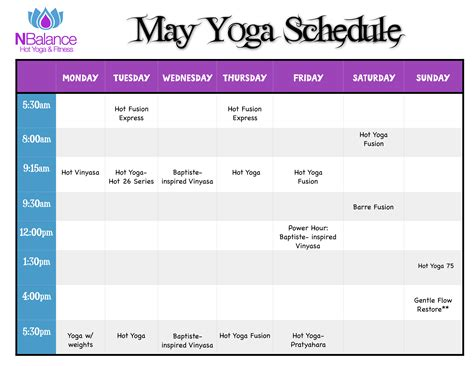 hot schedule new york hot yoga schedule sport fatare