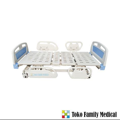 Tempat Tidur Besi Pasien jual alat kesehatan tempat tidur pasien 3 crank
