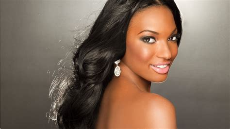Female Models With Black Hair | wedding hairstyles for black women that will turn heads