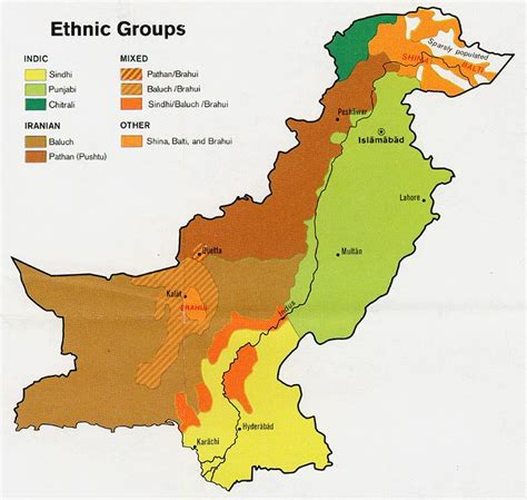 middle east map ethnic nationmaster maps of pakistan 22 in total