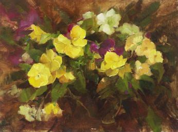 bob ross painting marshlands paint pansies from with these techniques from