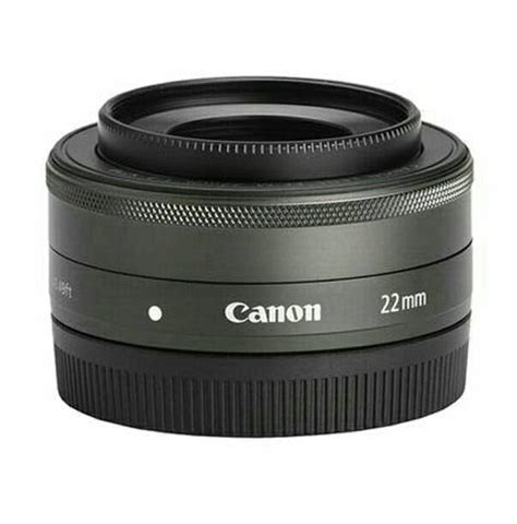Lensa Canon Semua Tipe jual new lensa fix canon eos m ef m 22mm 1 2 stm efm garansi 1 tahun istana tas kamera