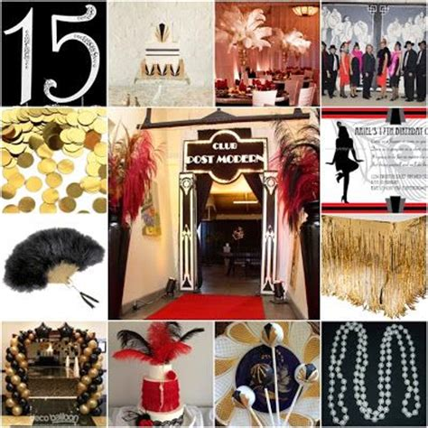 different themes in the great gatsby the great gatsby roaring 20s sweet fifteen theme