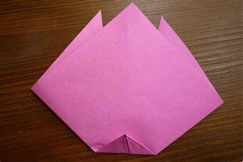 Tulip Origami Step By Step - origami tulip card favecrafts