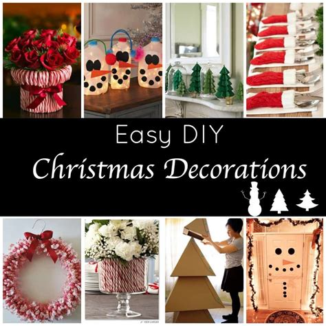 christmas diy cute easy holiday decorations page 2 of 2 princess