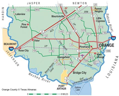 map of orange texas orange texas map my
