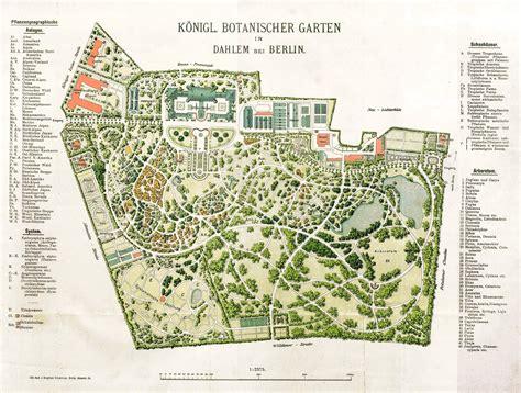 garten anlegen plan datei 1909 botanischer garten plan jpg