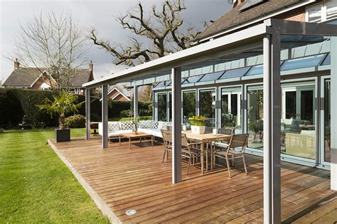 Glass Veranda Uk by Glass Verandas And Canopies Apropos Conservatories