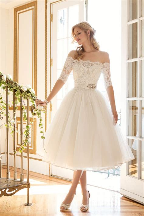 vestido cortos para boda 32 vestidos de novia cortos y fabulosos para tu boda