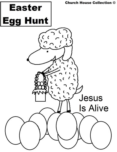coloring pages jesus is alive easter coloring pages