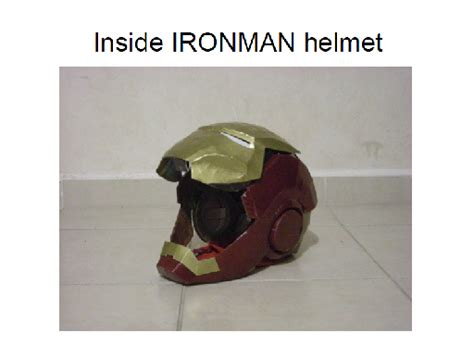 Iron Helmet Papercraft Pdf - inside ironman helmet by scannerjoe on deviantart